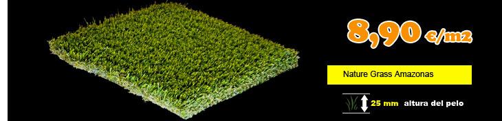 Cesped artificial nature grass amazonas