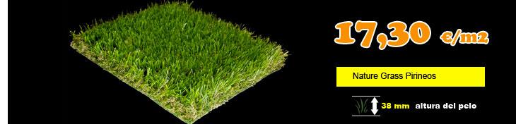 Cesped artificial nature grass pirineos