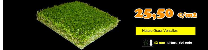 Cesped artificial nature grass versalles